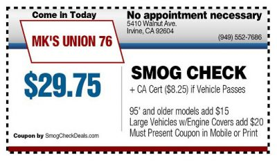 Diesel Gas Stations Near Me >> MK UNION 76 5410 Walnut Avenue Irvine, CA 92604 - Smog ...